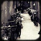 OLD SHANGHAI - Bike Lane by Vanessa Sam