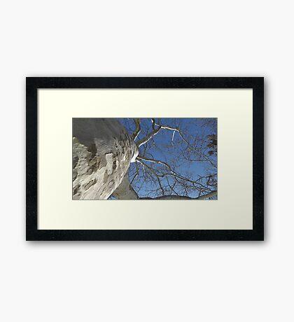 Blue Skies 019 Framed Print