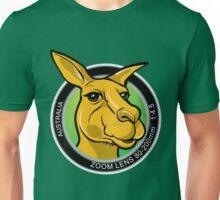 Kangaroo Lens Unisex T-Shirt