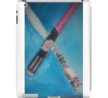 light sabers iPad Case/Skin