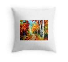 White Birches — Buy Now Link - www.etsy.com/listing/224372626 Throw Pillow