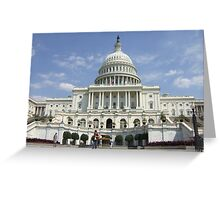 Capital Building Greeting Card