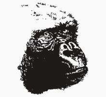 gorilla by Charlie brownsky
