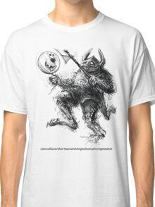 the boxer shorts t shirt monster Classic T-Shirt