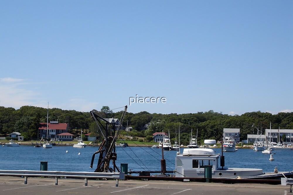 Martha's Vineyard Pier by piacere