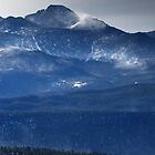 Longs Peak wind storm by Paul Crossland