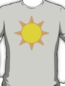 Black Sun With Rays EmojiOne Emoji T-Shirt