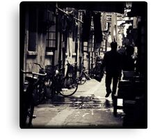 OLD SHANGHAI - Going Home Canvas Print