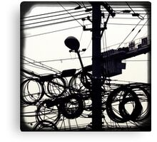 OLD SHANGHAI - High Speed Development Canvas Print