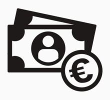 Euro notes coins Baby Tee