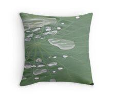 Lilypad Bathtime ..... Throw Pillow