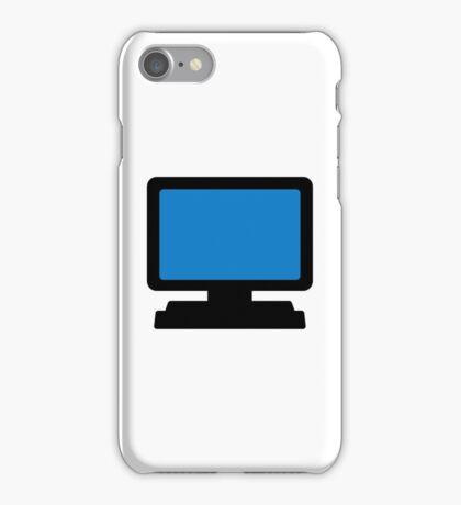 Monitor screen iPhone Case/Skin