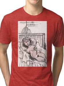 WAITING FOR YOU(C2007) Tri-blend T-Shirt