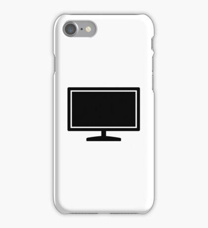 Computer monitor iPhone Case/Skin