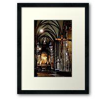 Stephan's Kirche Framed Print