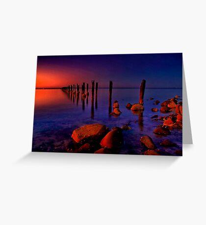"""""""Nightfall At The Dell"""" Greeting Card"""