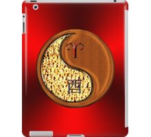 Aries & Rooster Yin Wood iPad Case/Skin
