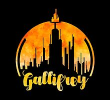 doctor who gallifrey by cosmiczombie