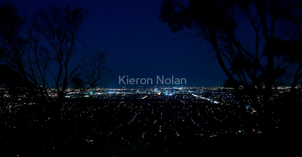 Adelaide city night shot by Kieron Nolan