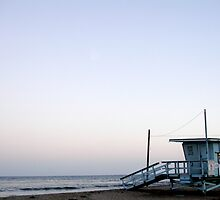 Malibu Evening Lifeguard Station by piacere