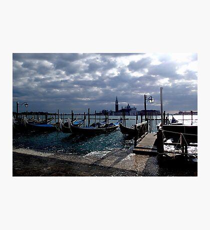 Stormy Venice Photographic Print