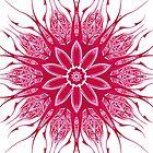 Red Pattern Kaleidoscope 02 by fantasytripp