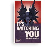 Destiny Propaganda Poster - It's Watching You Canvas Print