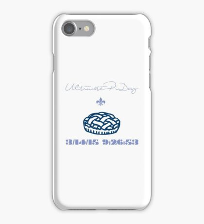 Ultimate Pi Day iPhone Case/Skin