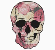 Rose Skull Baby Tee