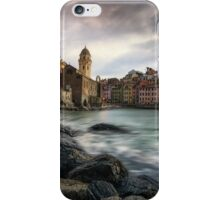 Sunset over Vernazza iPhone Case/Skin