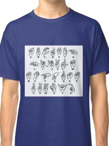 sign language Classic T-Shirt