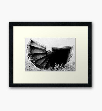 Darkness... Fear of Unseen... Framed Print