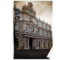 Catania University palace Poster