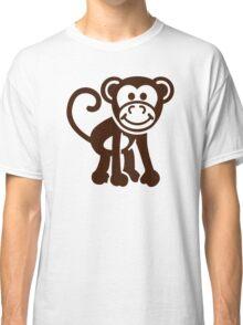 Comic monkey Classic T-Shirt