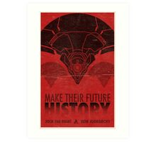 Destiny Propaganda Poster - New Monarchy Vex History Art Print