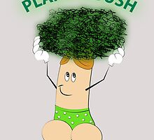 Plant A Bush Arbor Day by Graphic Buttease