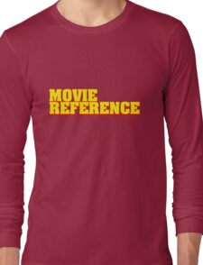 Movie Reference - Pulp Fiction Long Sleeve T-Shirt