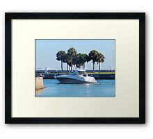Sunday Afternoon on the Gulf Framed Print