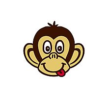 Monkey face Photographic Print