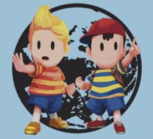Ness and Lucas by Ngea