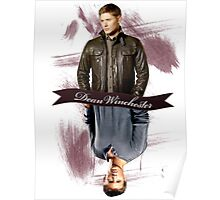 Dean Winchester Then & Now Poster