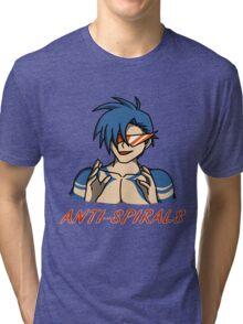 Kamina - Anti-Spirals Tri-blend T-Shirt