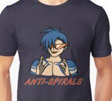 Kamina - Anti-Spirals Unisex T-Shirt