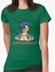 Kamina - Anti-Spirals Womens Fitted T-Shirt