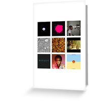 Childish Gambino Discography Greeting Card