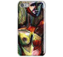 OH - WHEN YOU GOING TO BE DONE HERE(C2001) iPhone Case/Skin