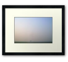Lost in void Framed Print