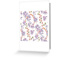 Beautiful Flower Ethnic Greeting Card