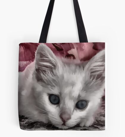 A Kitten Named Raiden Tote Bag