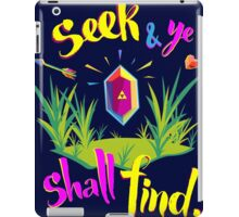 Legend of Zelda Seek and Ye Shall Find iPad Case/Skin